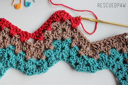 Granny Ripple {Crochet Tutorial} •✿• Teresa Restegui http://www.pinterest.com/teretegui/ •✿•