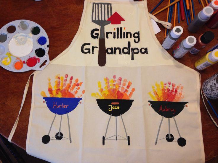 Grilling Grandpa Apron
