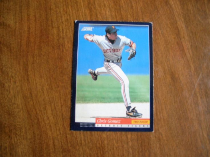 Chris Gomez Detroit Tigers Shortstop Card No. 309 (BC309) Score Pinnacle Baseball Card - for sale at Wenzel Thrifty Nickel ecrater store