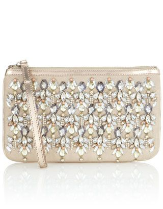 Love this jeweled clutch!