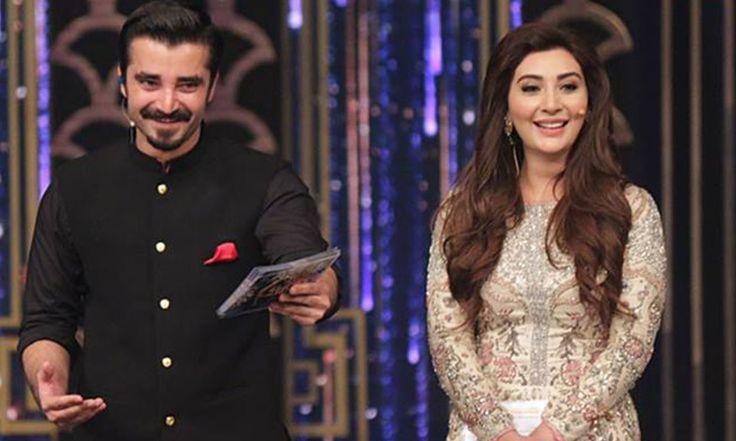 Hamza Ali Abbasi And Ayesha Khan will Be Hosting Aajj TV's Ramzan Show 2016
