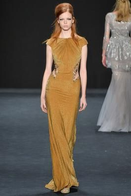Badgley Mischka Fall 2015 Ready-to-Wear Fashion Show: Complete Collection - Style.com