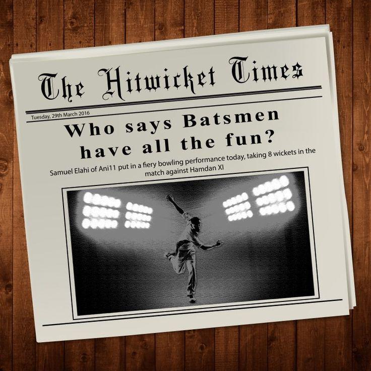 #Hitwickettimes  Batsmen have all the fun. #cricket #cricketgame