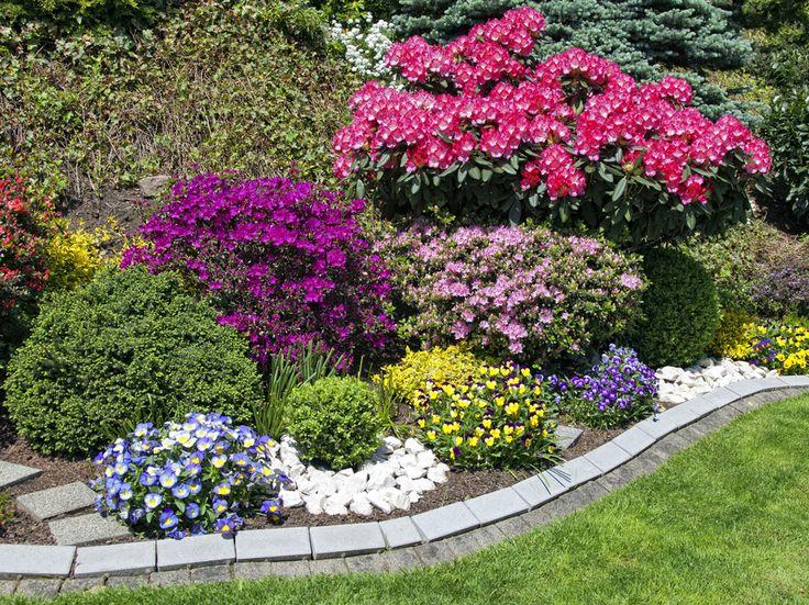 Risultati immagini per idee per aiuole da giardino