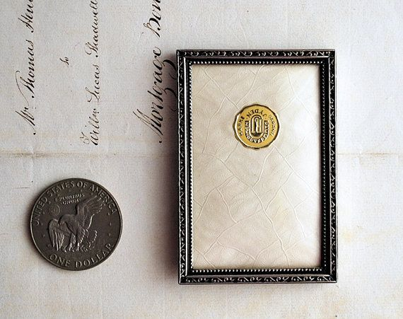 vintage silver plated small photo frame jyden denmark