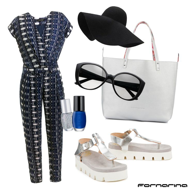 Fornarina styling tips #fornarina #myFornarina #stylingtips #lookidea #fashion #casual #spring #jumpsuit