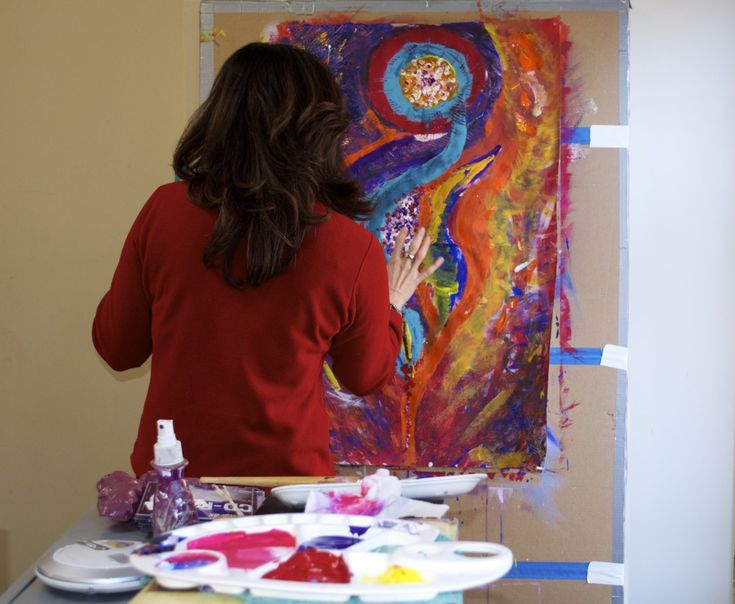 Painting With Your Muse Intuitive Painting Workshop #Toronto