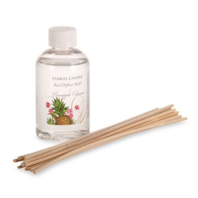 Yankee Candle®Pineapple Cilantro Fragranced Oil Reed Diffuser Refill - BedBathandBeyond.com