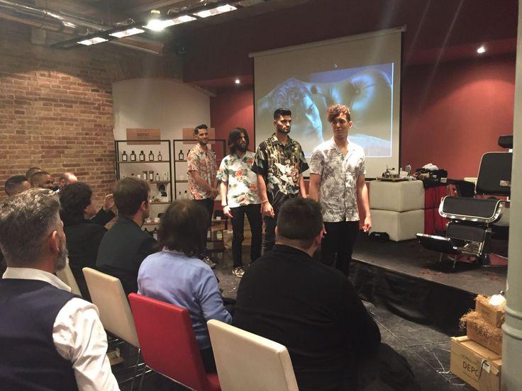 Os enseñamos algunas de las fotografías de la presentación de DEPOT The Male Tools & Co. que tuvo lugar ayer en el Petit Palace Museum de Barcelona. ¡Muchísimas gracias a todos los asistentes por hacernos compañía este día TAN y TAN especial! Y cómo no, al presentador y formador DEPOT German Munster, ¡un auténtico placer! De nuevo ¡GRACIAS! #DEPOT #EBbeautygroup #efectobelleza #EBxperience
