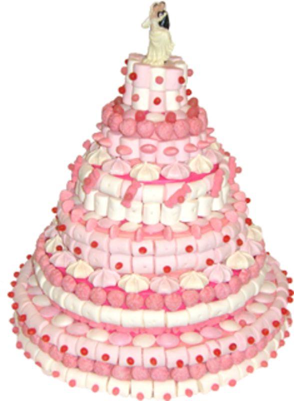 Piece mont e g ante mariage confiserie cadeaux bonbons fait maison oui pinterest - Cadeaux invites mariage fait maison ...