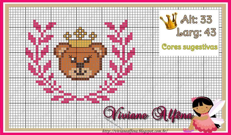 26 best ponto de cruz images on Pinterest | Cross stitch patterns ...