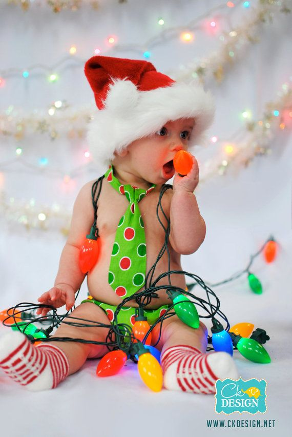 Baby / Toddler First Christmas Diaper Cover by FuzzyCheeksBoutique
