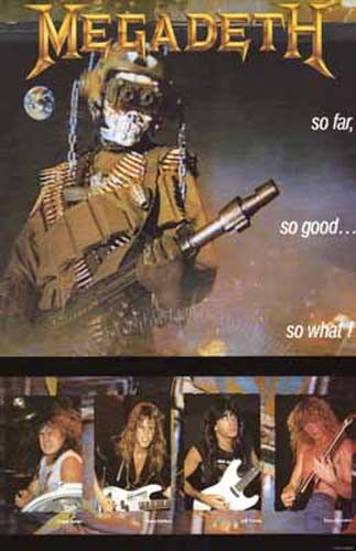 Megadeth So Far So Good So What Album Cover Music Poster 11x17 – BananaRoad