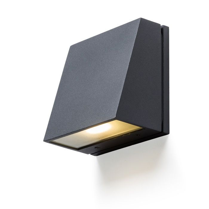 GIGI | rendl light studio | Unidirectional wall light for outdoor use with a cover of clear glass. #lights #design #outdoor #wall