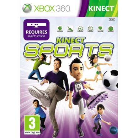 Kinect Sports to kompilacja gier sportowych, stworzonych z myślą o Kinect – kontrolerze ruchu dedykowanym Xboksowi 360, angażującym do zabawy całe ciało człowieka. Produkcja została opracowana przez firmę Microsoft oraz studio Rare.