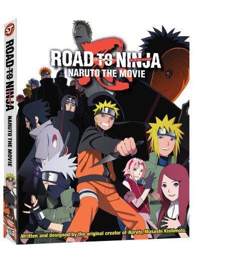 Naruto Shippuden: Movie 6 - Road To Ninja (Blu-Ray)