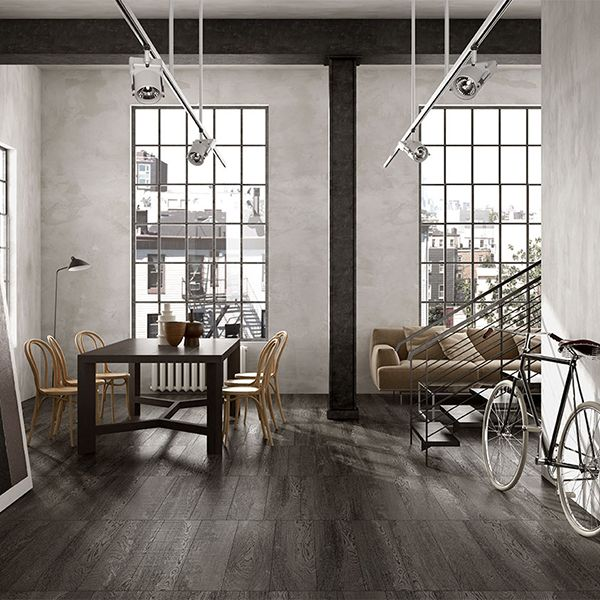 IN_WOOD Six varieties with brown or neutral tones, inviting you to a wonderful getaway under the auspices of continuity and innovation.  Porcelain Tile Wood Effect