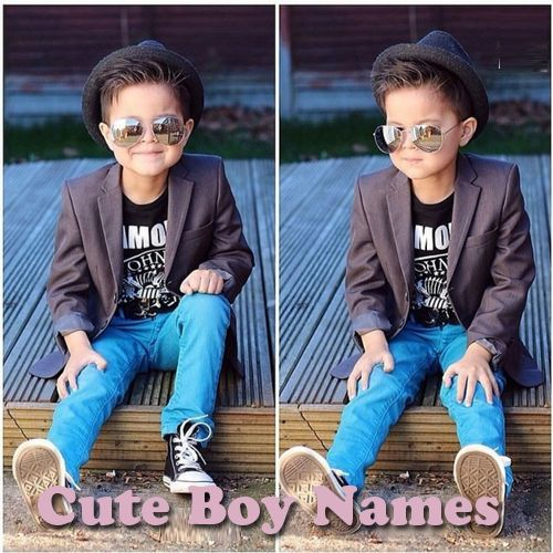 Cute Boy Names and Meanings