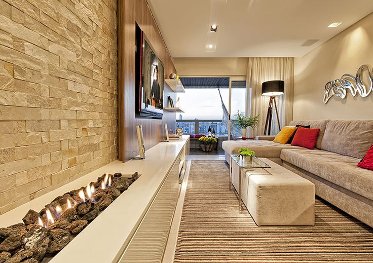 Living Rooms With Stone Foi