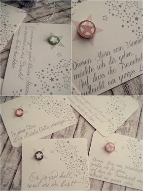 Mitbringsel oder kleines Geschenk - Konfirmation und Kommunion