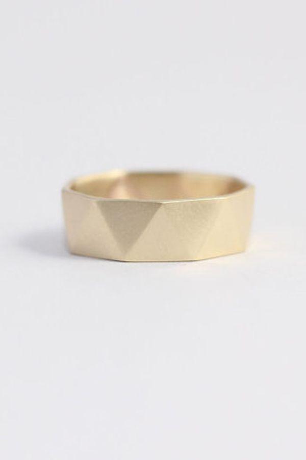 Geometric Mens Wedding Band Mens Gold Wedding Band Wedding Jewelry Mens Rings Mens Jewelry Mod Mens Gold Wedding Band Mens Wedding Bands Mens Jewelry