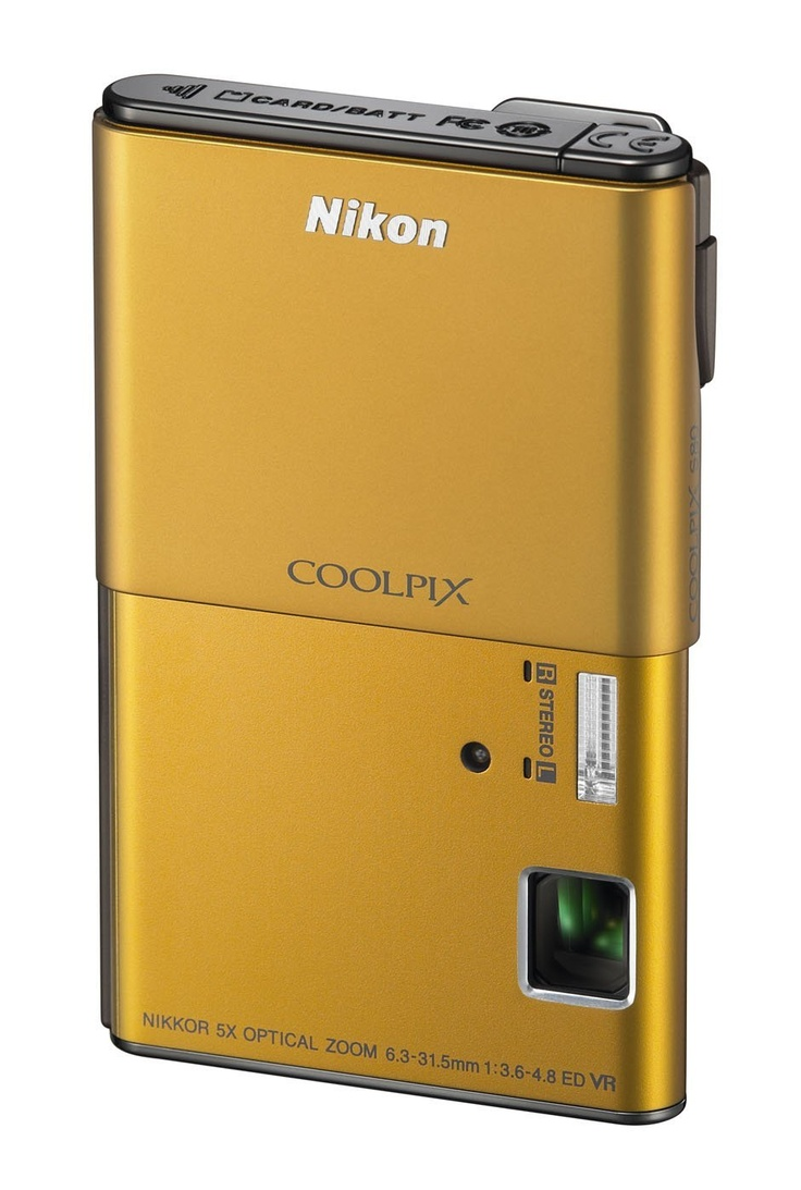 Nikon Coolpix S80 14.1 MP Digital Camera with 3.5-Inch OLED Touchscreen and 5x Wide-Angle Zoom Nikkor ED Lens (Gold) > Price:$99.00 > Click on the image for details and offers.