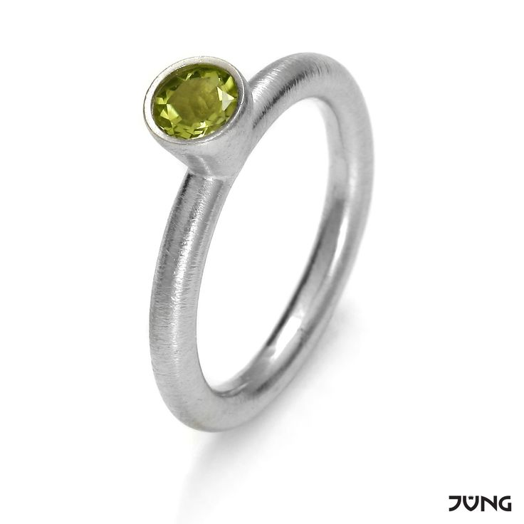 silver ring with peridot http://en.dawanda.com/product/95076847-silver-ring-with-peridot