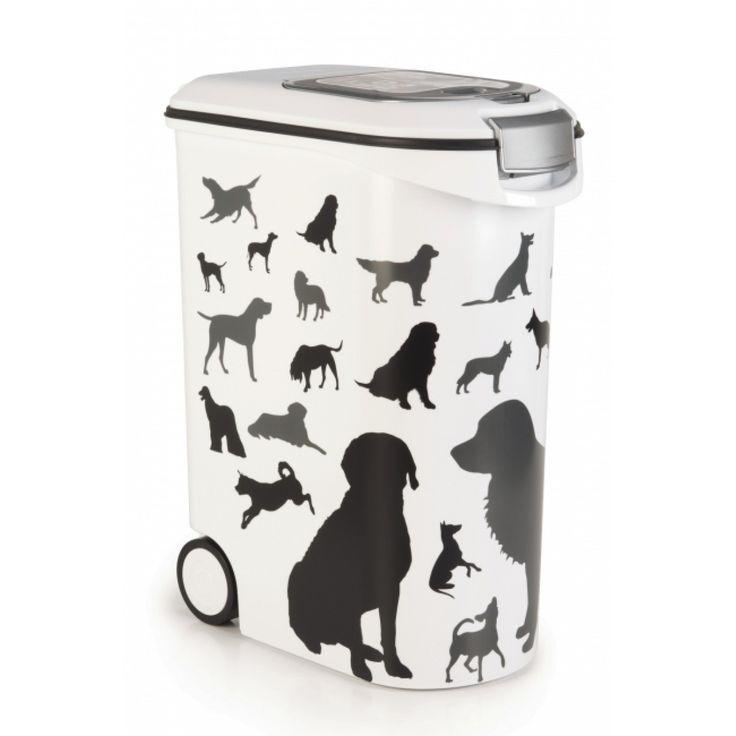 Nirgendwo so günstig wie bei uns! Curver Petlife Futter-Container Futterbehälter