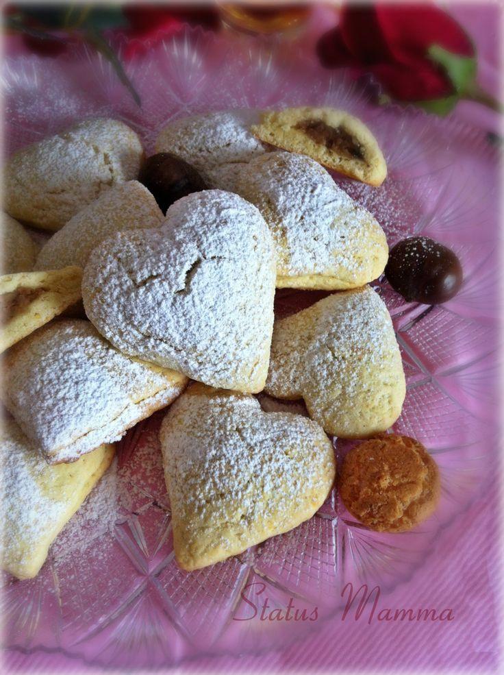 Biscotti di Cupido ricetta per San Valentino dolce http://blog.giallozafferano.it/statusmamma/biscotti-di-cupido-ricetta-per-san-valentino-dolce/