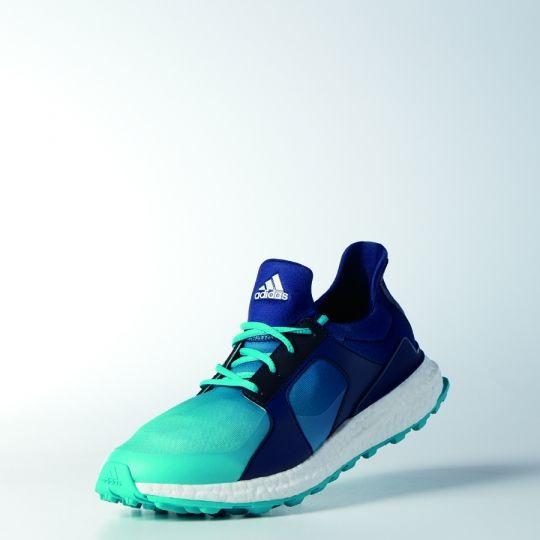 Energy Blue/Night Sky Adidas Ladies Climacross Boost Golf Shoes #lorisgolfshoppe