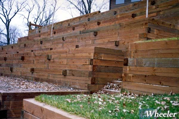Flower Bed Retaining Wall Design Google Search Landscaping Retaining Walls Building A