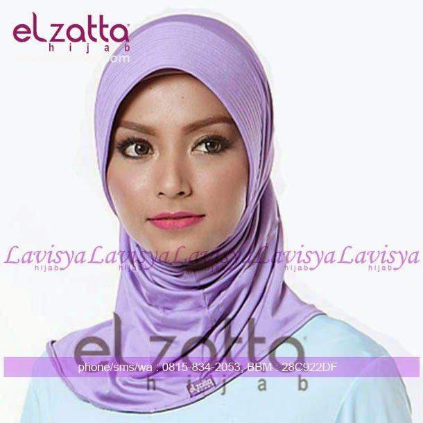 Lavisya Hijab: Elzatta Zaria S Casual - Rp. 29000