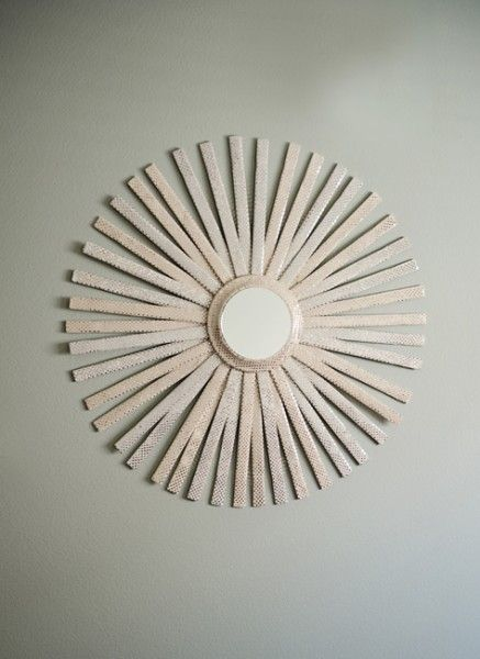 88 best images about mirrors on pinterest for Decorative crafts mirrors
