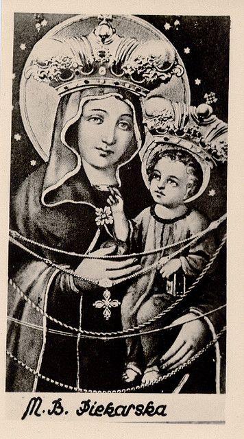 Matka Boska Piekarska  The miraculous image of Our Lady of  Piekary Śląskie in…