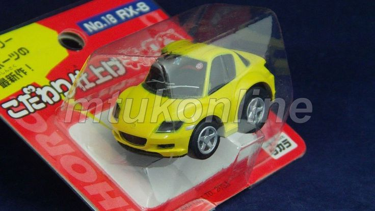 CHORO-Q SUPER REAL 2003 | MAZDA RX8 2003 | NO.18 | YELLOW