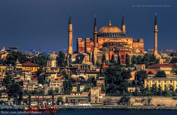 Hagia Sophia is a former Orthodox church, later an imperial mosque and now is a museum. It's one of the most beautiful architectural and historical places in Istanbul. Hagia Sophia is the most visited place in Istanbul.