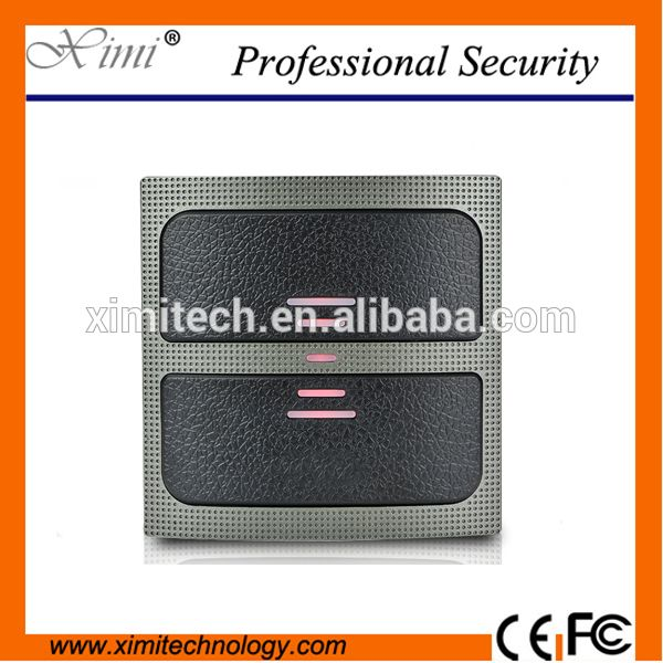 Waterproof IP65 RFID card reader for access control system outdoor use MF card reader door control system reader