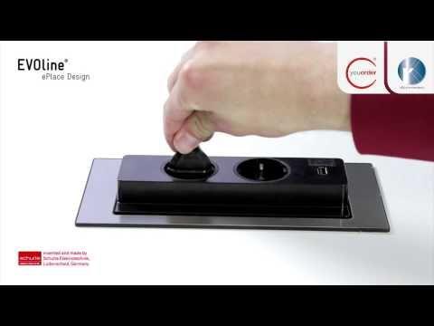 Steckdose Backflip inkl. USB - Küchenzubehör aus Bielefeld