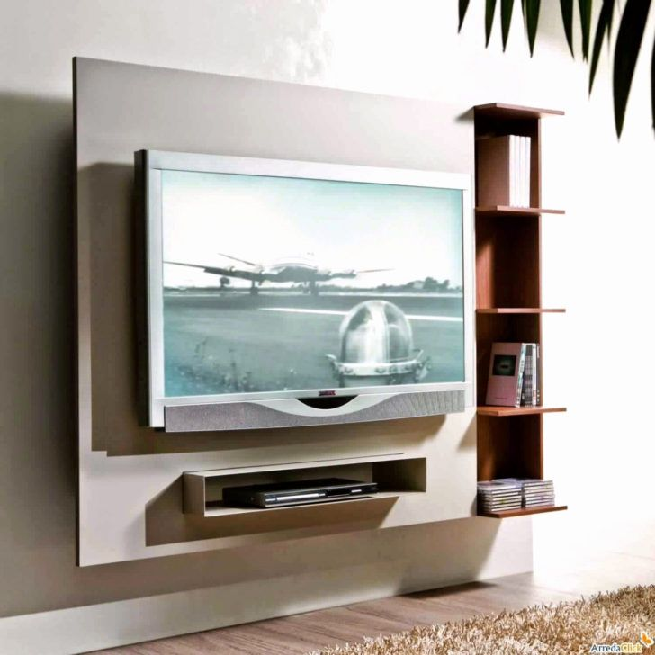 Interior Design Meuble Tv Blanc Bois Meuble Tv Design Blanc Genial