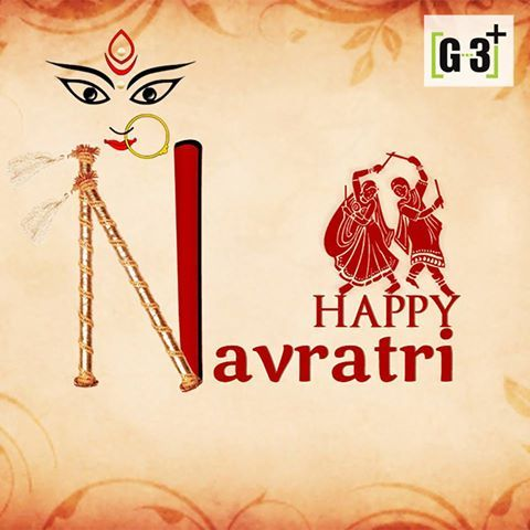Navratri means nine nights of devotion. Spirituality. Celebrations. Music. Dance. Garba. Stuti. Hope the divine blessings of Maa always be with us. Happy Navratri!!