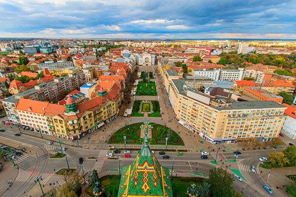 Cheap flights Barcelona - Timisoara
