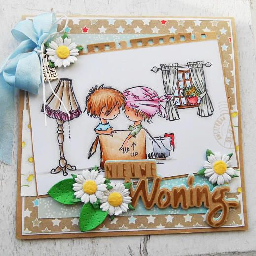 Marianne Design Papercrafting Set - Don & Daisy PA4005