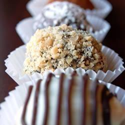 Zelfgemaakte chocoladetruffels / bonbons!