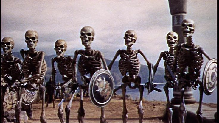 They came to life and stood up on the feet A vast SKELETON ARMY