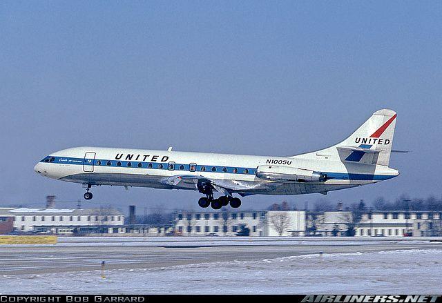 United Airlines Sud SE-210 Caravelle VI-R
