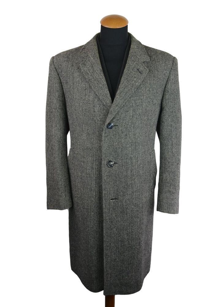 Harris Tweed Kurzmantel, Wolle