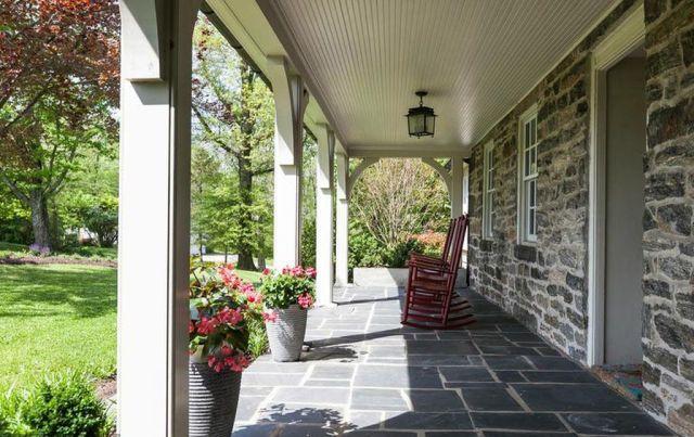 This Stone Farmhouse Makes Our Daydreams Run Wild  - HouseBeautiful.com