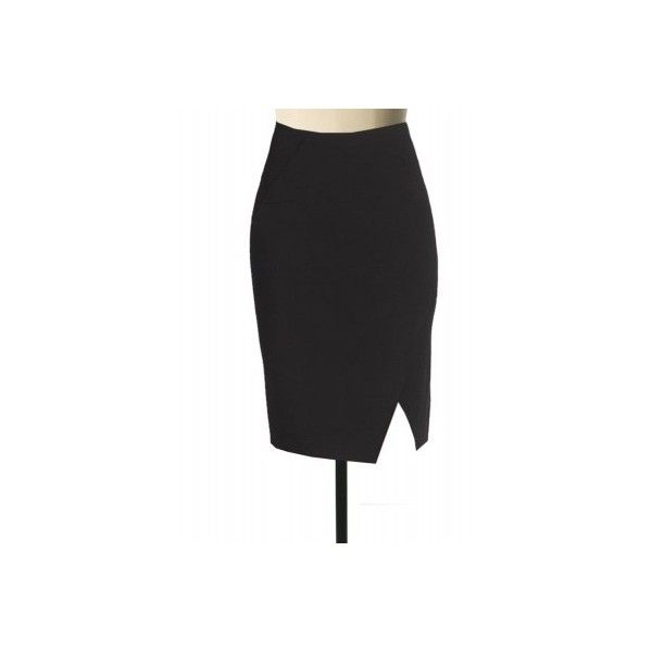 Plus Size Fully line black Linen pencil skirt with diagonal cut (6.830 RUB) ❤ liked on Polyvore featuring skirts, plus size pencil skirt, pencil skirts, plus size knee length skirts, plus size skirts and linen skirts