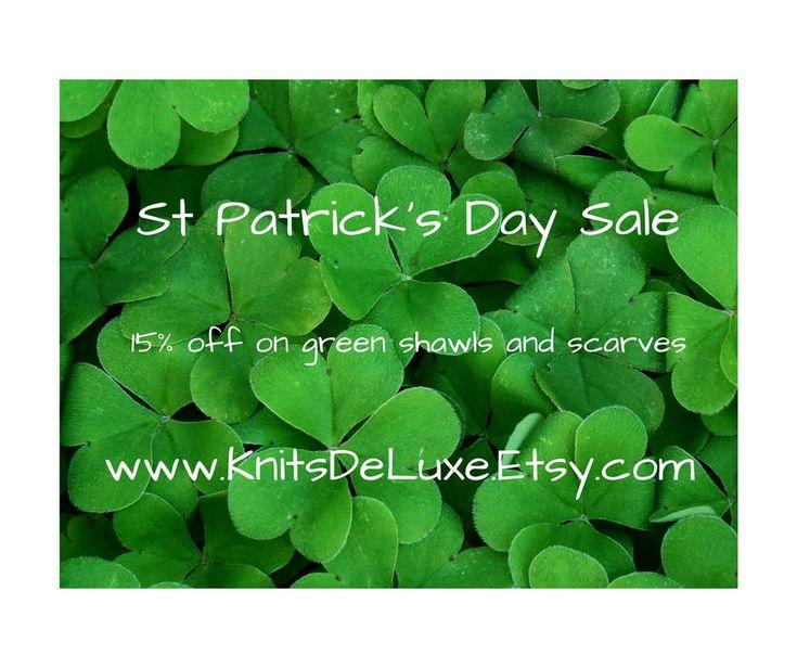 Get #green with #StPatricksDay #sale http://etsy.me/2FHxe4R #etsy #knitsdeluxe #etsyfinds #etsygifts #etsysale #etsycoupon #shopsmall