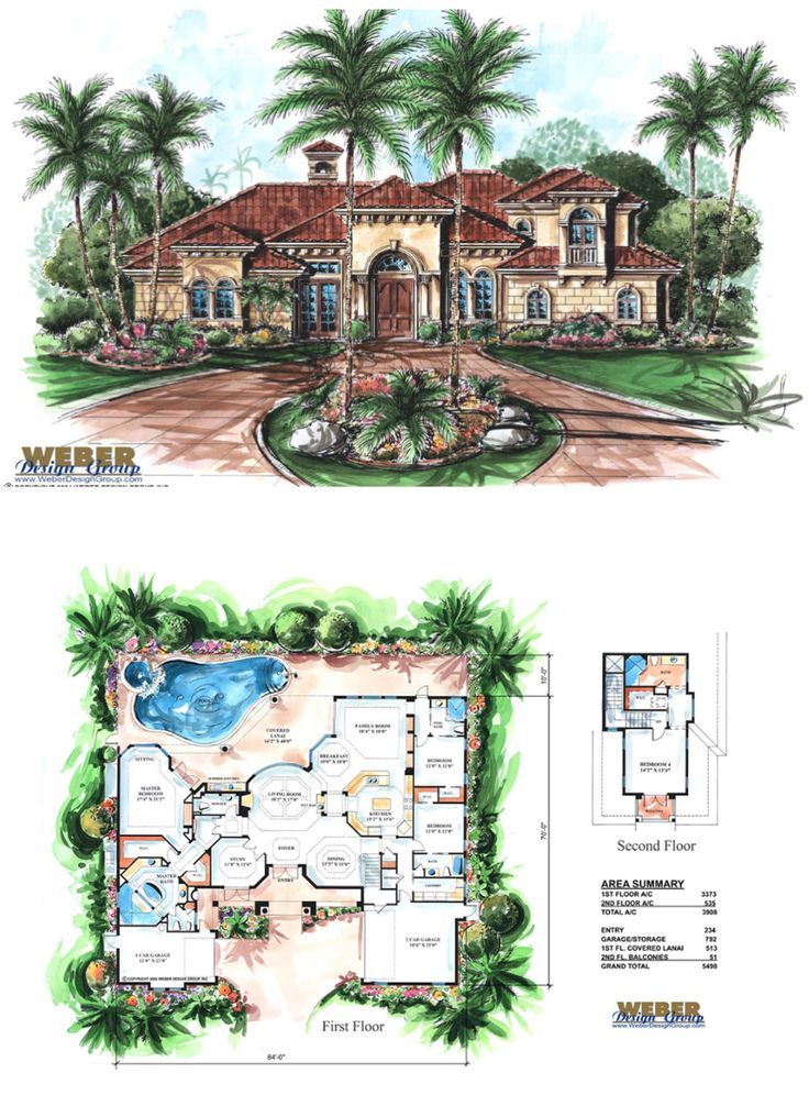 Mediterranean House Plan 2 Story Tuscan Style Home Floor Plan Luxury Mediterranean Homes Mediterranean Homes Mediterranean Style Homes